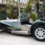 "Caterham with 6x13"" Minilite {France]"