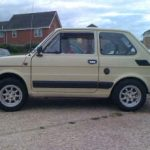 "Fiat 126 Air Cooled 5x12"" Minilites + 155/70R12 tyres"