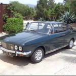 "Minilite 5x13"" Alloy on Sunbeam Rapier [Cyprus]"
