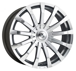 """20"""" Wolfrace Renaissance High Power Silver + Polished spokes £925 to fit Mercedes Sprinter"""