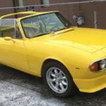 """Triumph Stag 1971 7x16"""" Minilite alloys ET06 in Canada"""