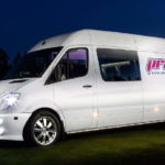 """20"""" Lenso Concerto Alloys ET35 on Sprinter Van with 255.50.20 tyres in Finland"""
