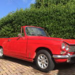 "13"" Minilite Alloys and 155.13 Dunlop tyres Triumph Vitesse"