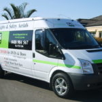 """16"""" Viper Alloys fitted to Transit Van in Australia"""