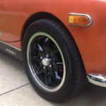 "5½x15"" Minilites MG Midget + 175//55R15 tyres [USA]"