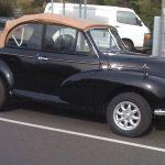 "5½x14"" Minilite on 1949 Morris Minor [Australia]"