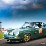 "6x15"" Minilites on Racing Porsche"