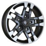 Wolfrace Eurosport FTR Gloss Black & Polished Tips