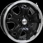 Calibre Dominator Black polished