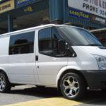 "18"" ZEN D666 Alloys and 245/45R18 tyres on Transit Van"