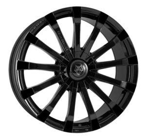 "20"" Wolfrace Renaissance Gloss Black £925 to fit Mercedes Sprinter"