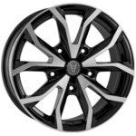 Wolfrace Assassin TRS Black+Polished finish