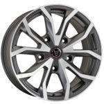 Wolfrace Assassin TRS Gunmetal + Polished Tips
