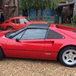 """16"""" alloys on Ferrari 308"""